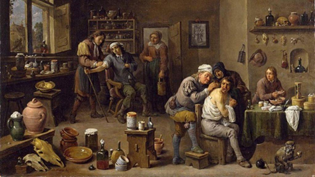 chirurgi medievali